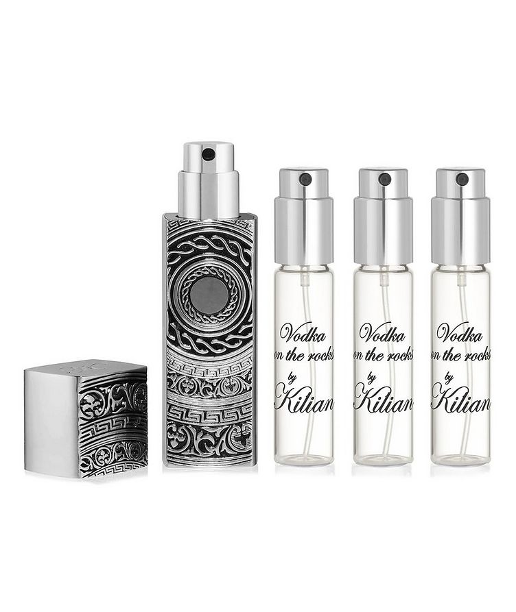 Vodka on the Rocks Travel Spray with its 4 refills image 0