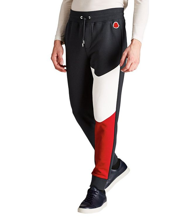 Tricolour Drawstring Joggers picture 1