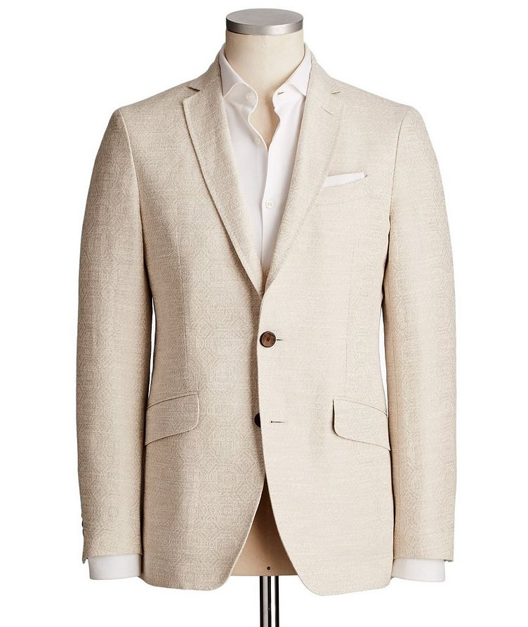 Linen & Cotton Sports Jacket image 0