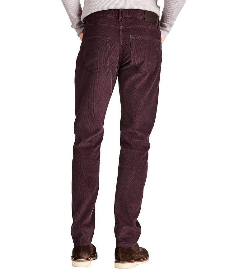 Slim Fit Corduroy Pants image 1