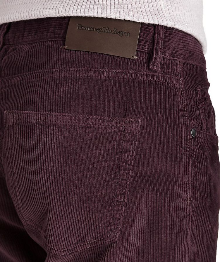 Slim Fit Corduroy Pants image 2