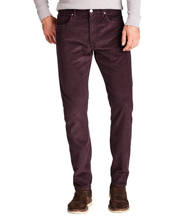 Slim Fit Corduroy Pants picture 1