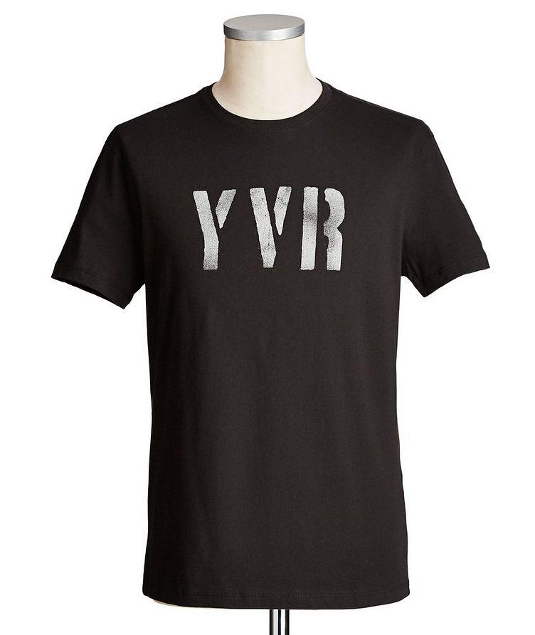 T-shirt imprimé en coton image 0