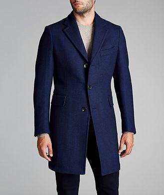 Atelier Munro Rain System® Wool Coat