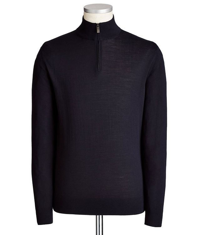 Half-Zip Wool Sweater picture 1