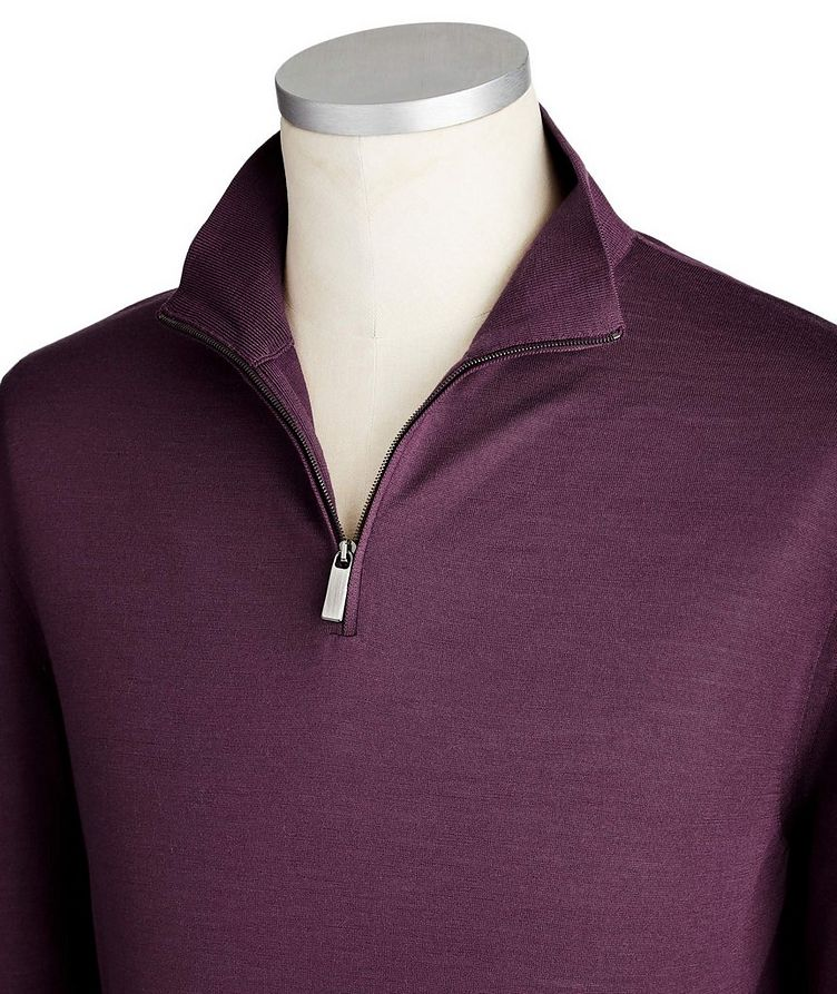 Half-Zip Wool Sweater image 1