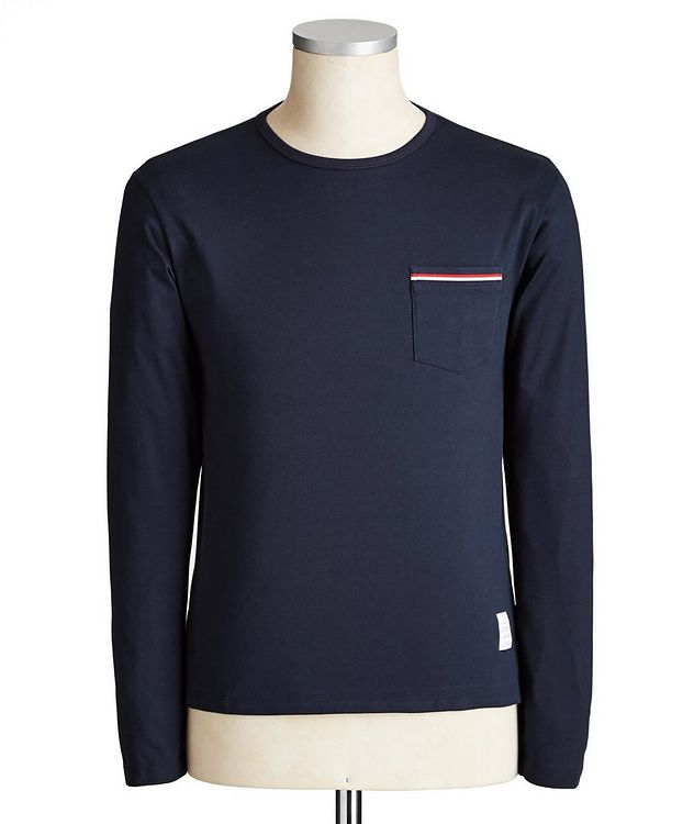 Long Sleeve Cotton T-Shirt picture 1