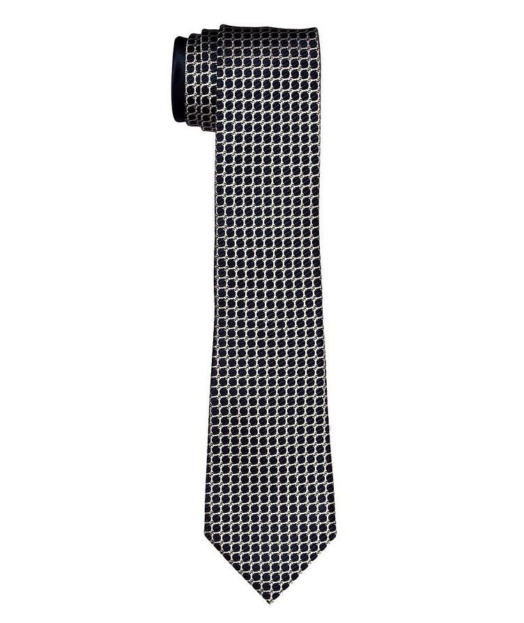 Couture Printed Silk Tie image 0