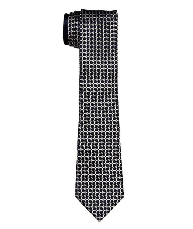 Couture Printed Silk Tie picture 1