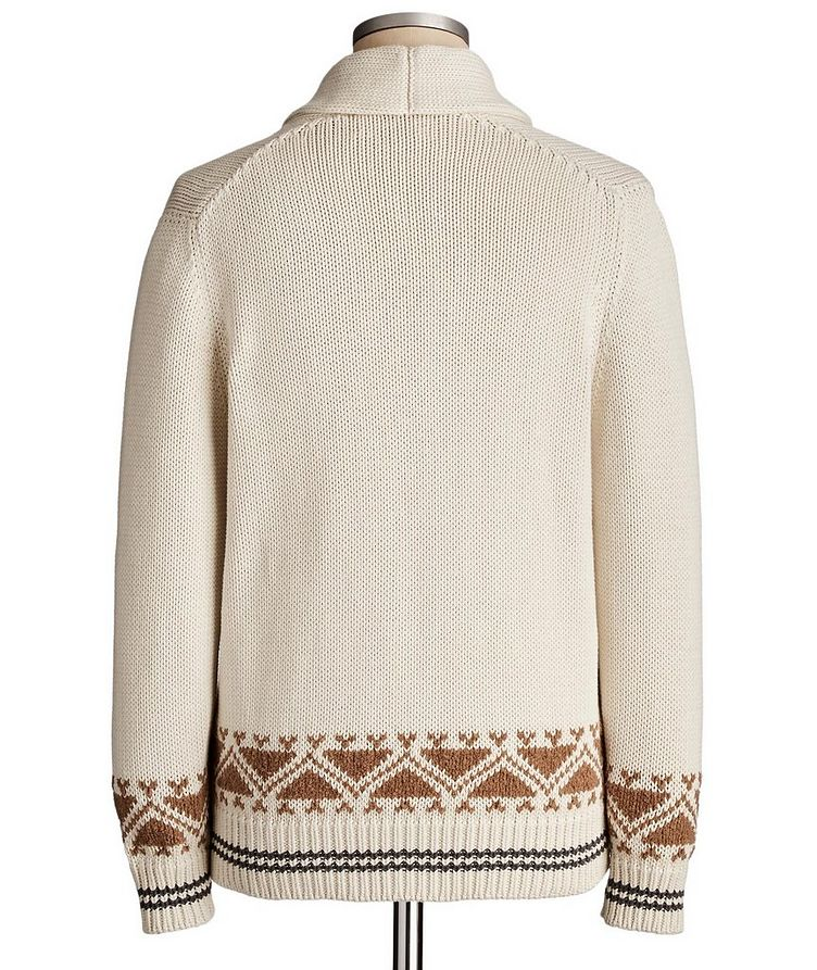 Cotton Knit Cardigan image 1