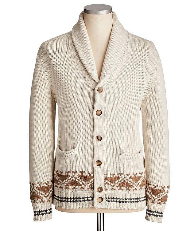 Cotton Knit Cardigan picture 1