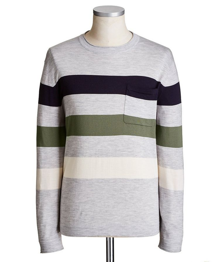 Virgin Wool & Cashmere Sweater image 0