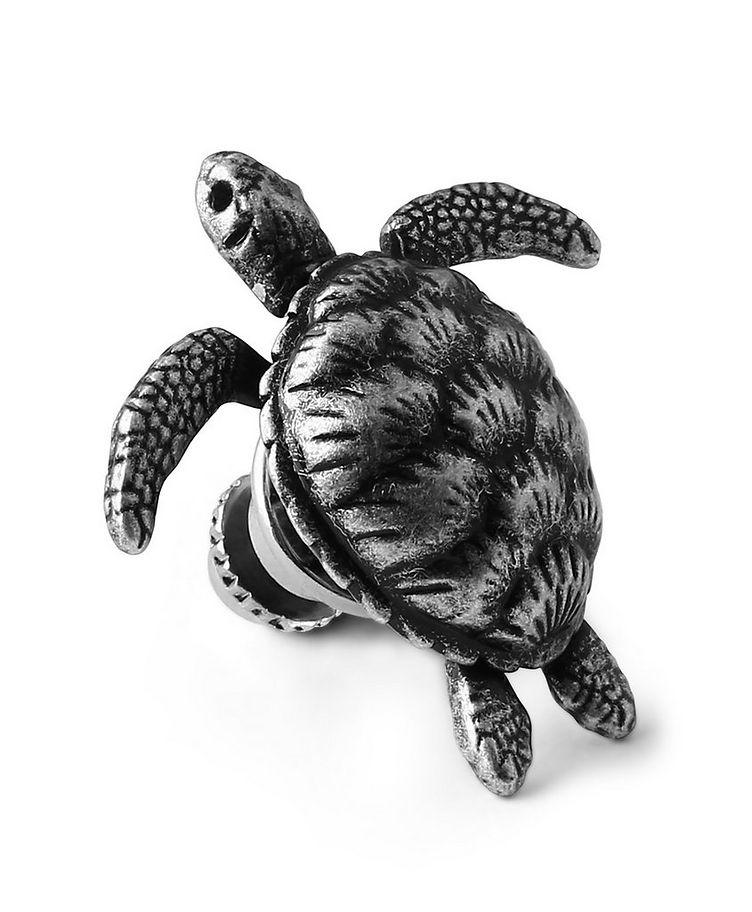 Mechanical Turtle Lapel Pin  image 0