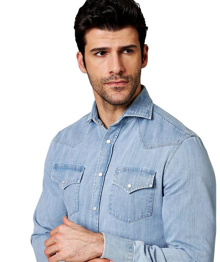 Contemporary Fit Western Shirt image 1