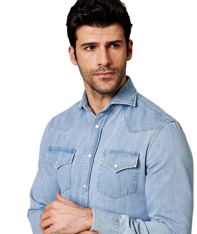 Contemporary Fit Western Shirt picture 2