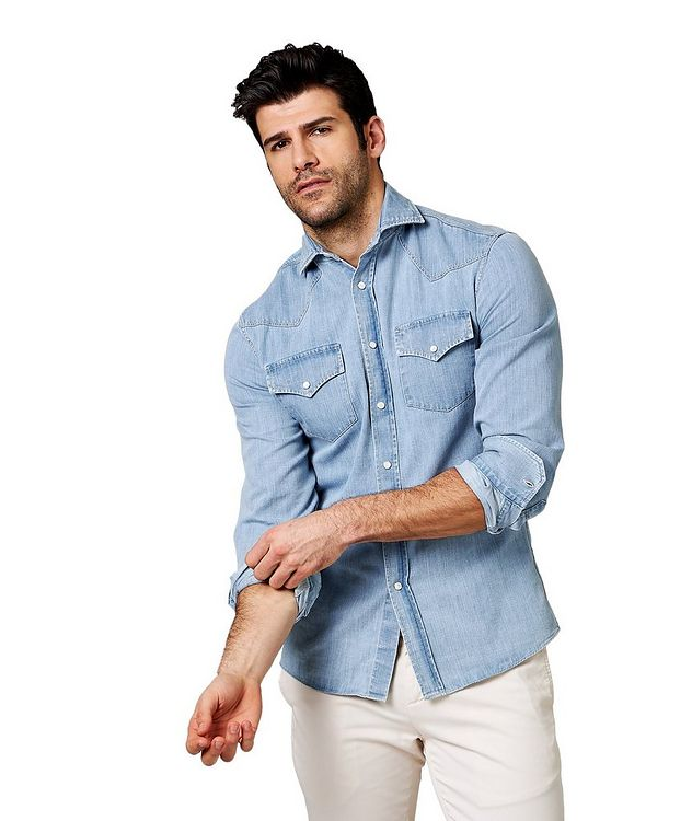 Contemporary Fit Western Shirt picture 1