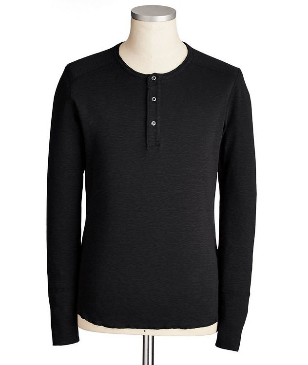 Cotton Henley picture 1