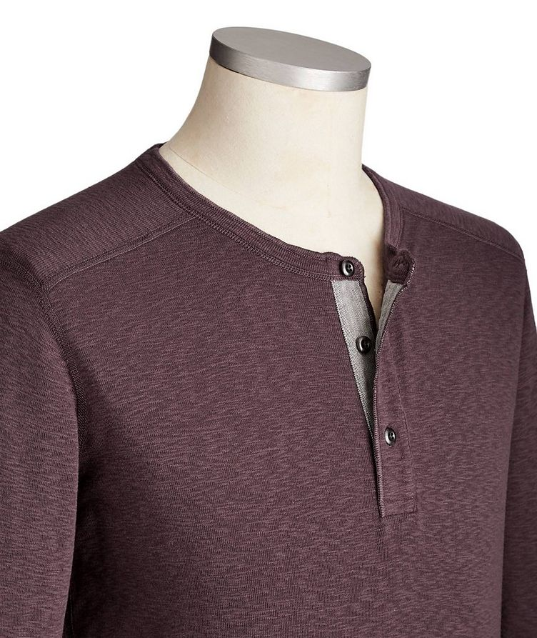 Cotton Henley image 1