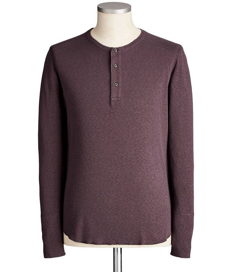 Cotton Henley image 0