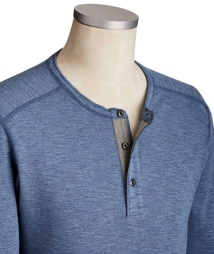 Pull boutonné en coton image 1
