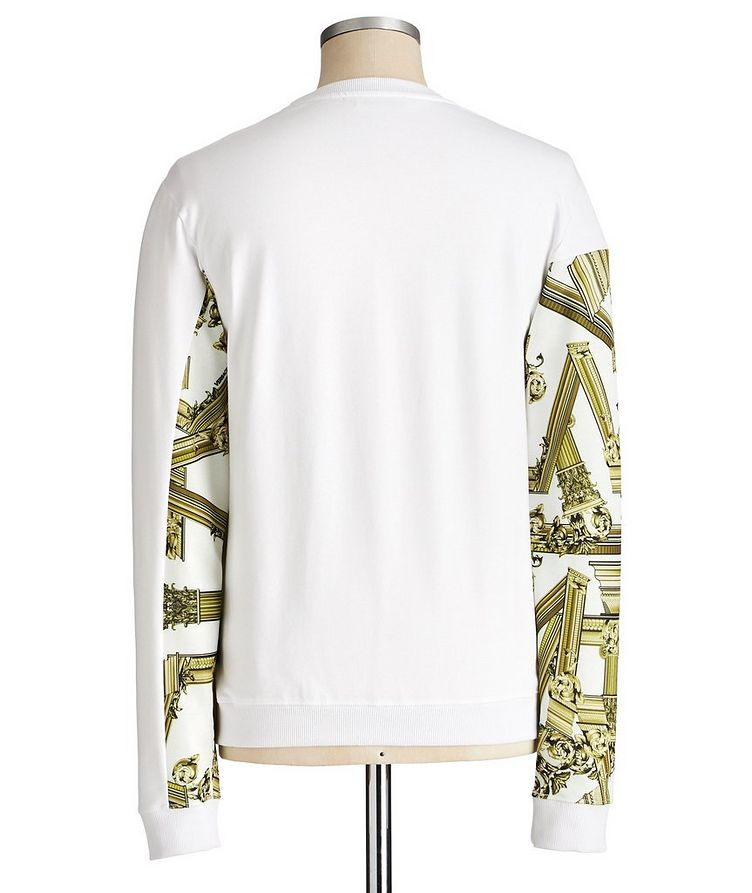 Printed Stretch Cotton Sweatshirt image 1