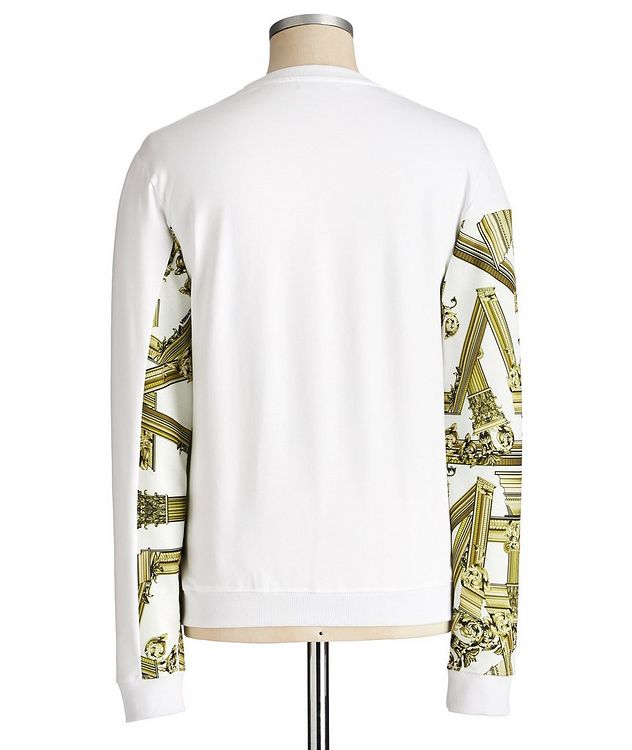 Printed Stretch Cotton Sweatshirt picture 2