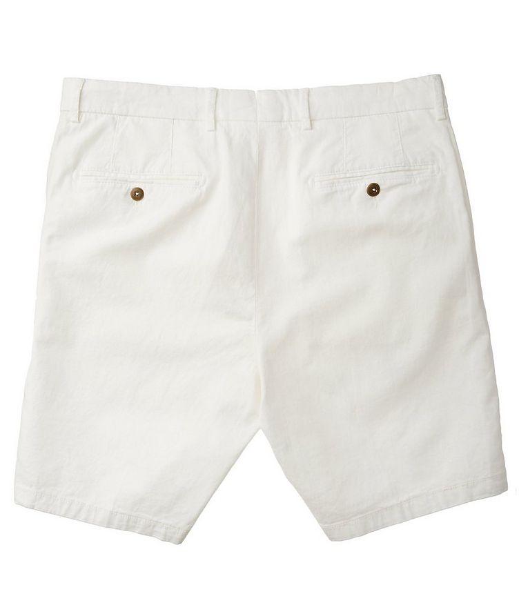 Short en coton et lin image 1