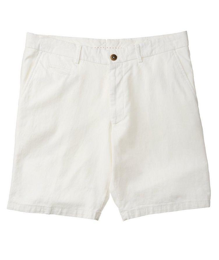 Short en coton et lin image 0