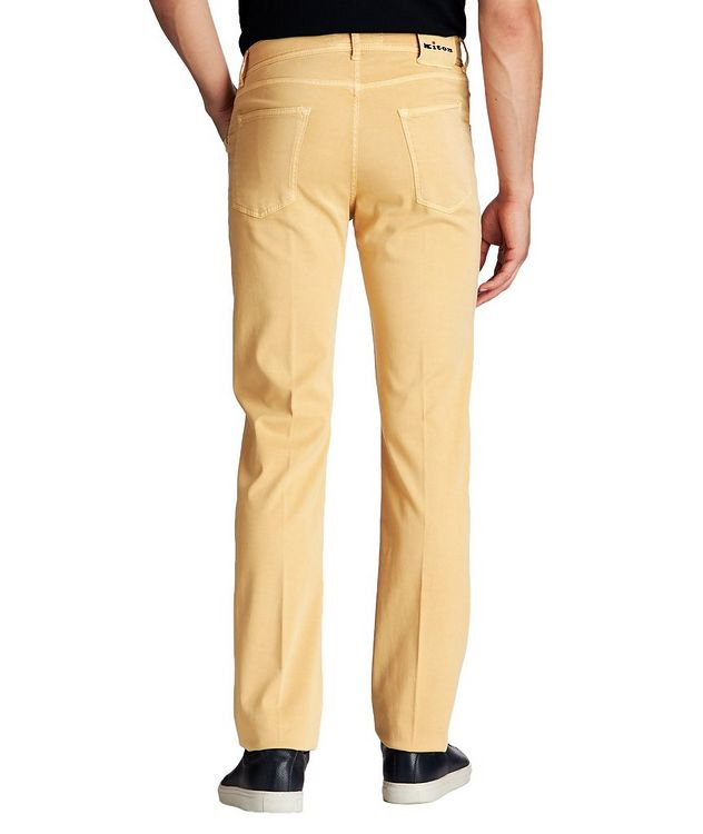 Slim Fit Stretch Blend Pants picture 2