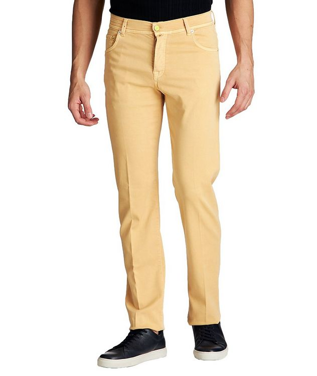 Slim Fit Stretch Blend Pants picture 1
