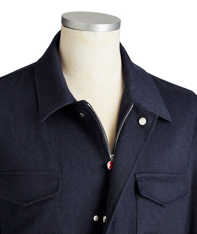 Cashmere Field Jacket picture 2