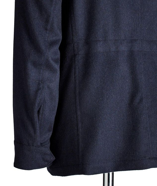 Cashmere Field Jacket picture 3
