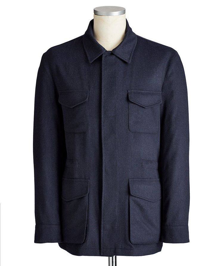 Cashmere Field Jacket image 0