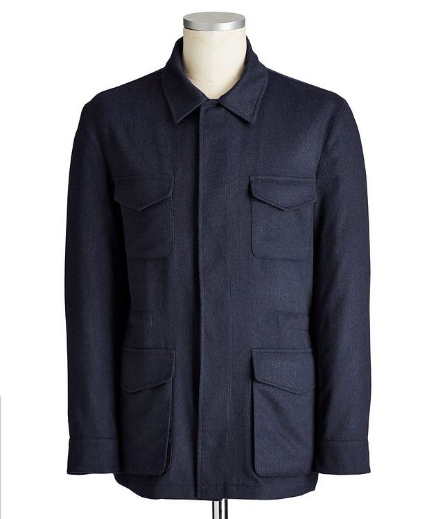Cashmere Field Jacket picture 1