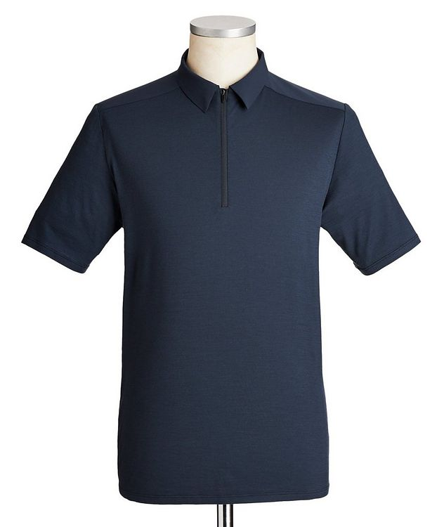 Half-Zip Wool Polo picture 1