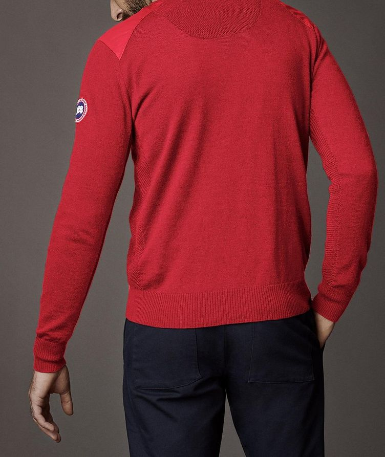 McLeod V-Neck Merino Wool Sweater image 3