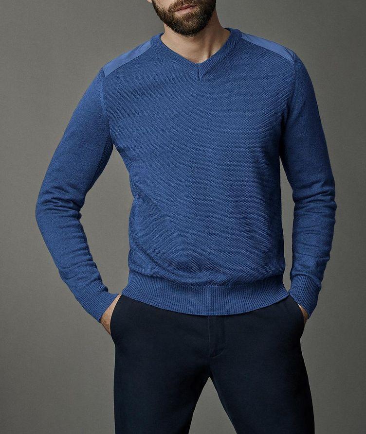 McLeod V-Neck Merino Wool Sweater image 1