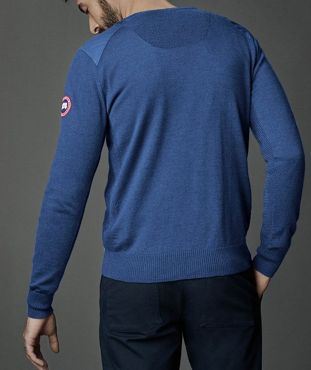 McLeod V-Neck Merino Wool Sweater picture 4