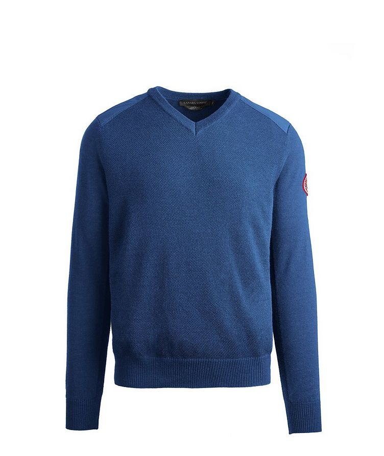 McLeod V-Neck Merino Wool Sweater image 0