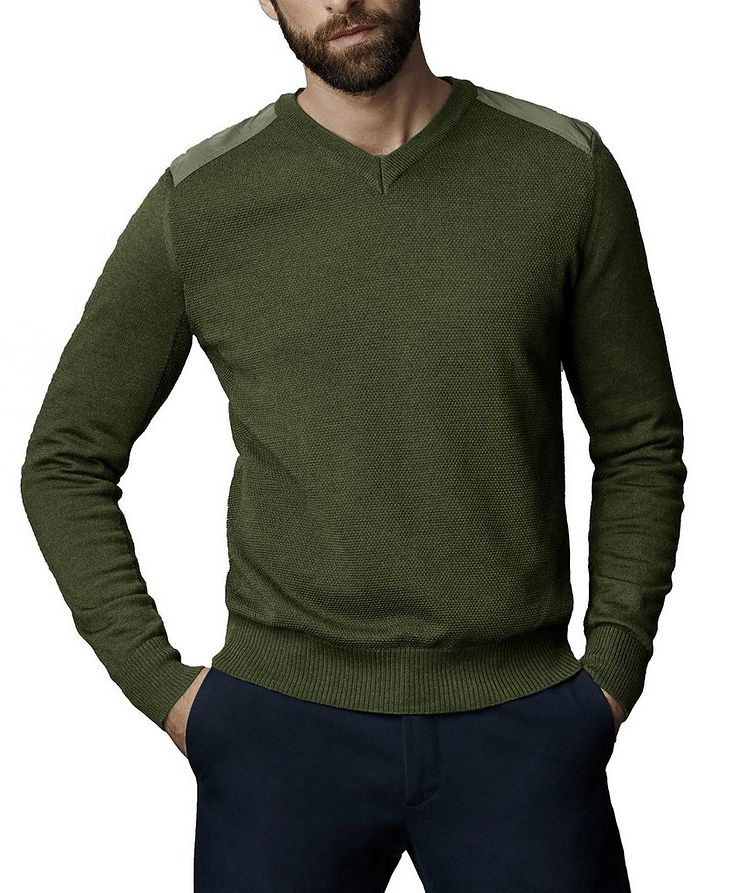 McLeod V-Neck Sweater image 1