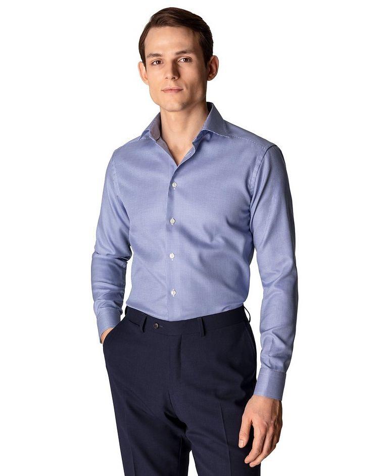 Slim Fit Houndstooth Dress Shirt image 1