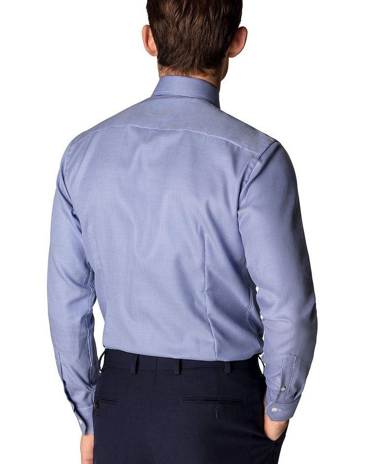 Slim Fit Houndstooth Dress Shirt image 2