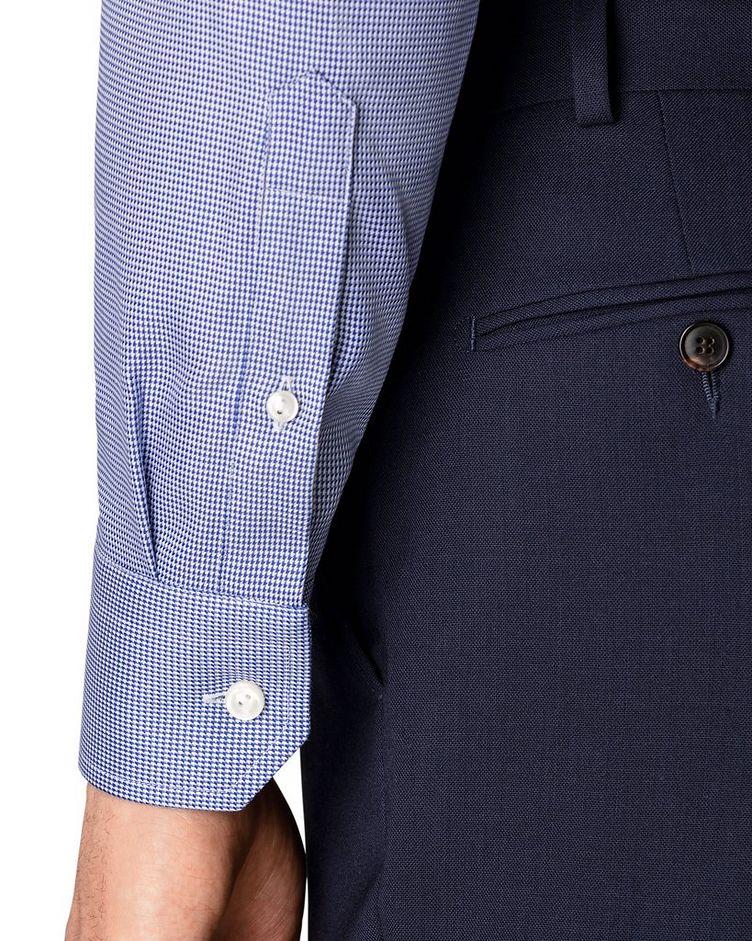 Slim Fit Houndstooth Dress Shirt image 3