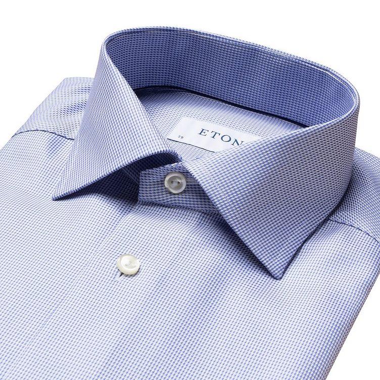 Slim Fit Houndstooth Dress Shirt image 4