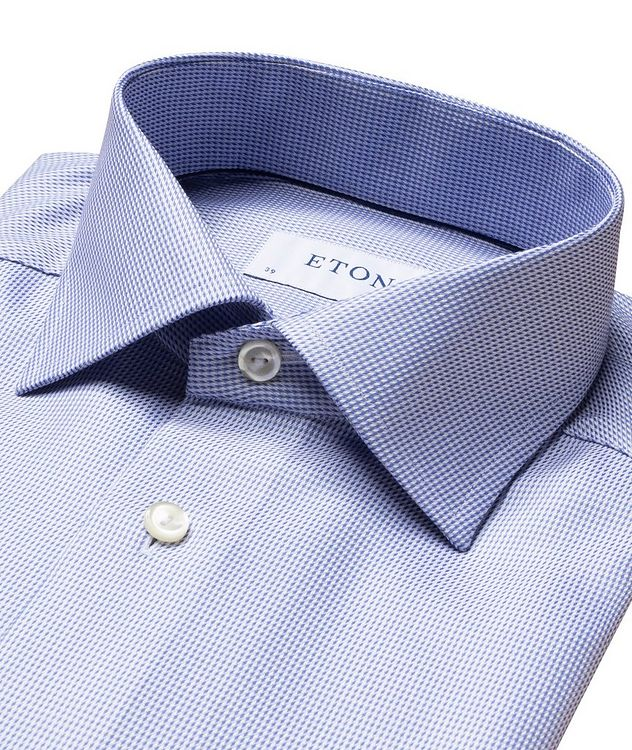 Slim Fit Houndstooth Dress Shirt picture 6