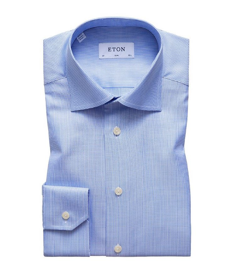 Slim Fit Houndstooth Dress Shirt image 0