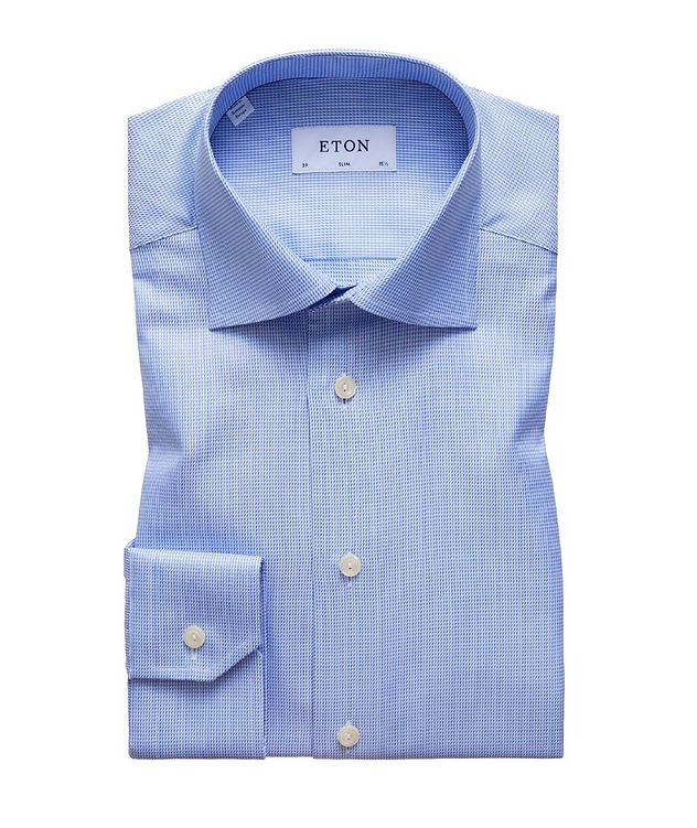 Slim Fit Houndstooth Dress Shirt picture 1