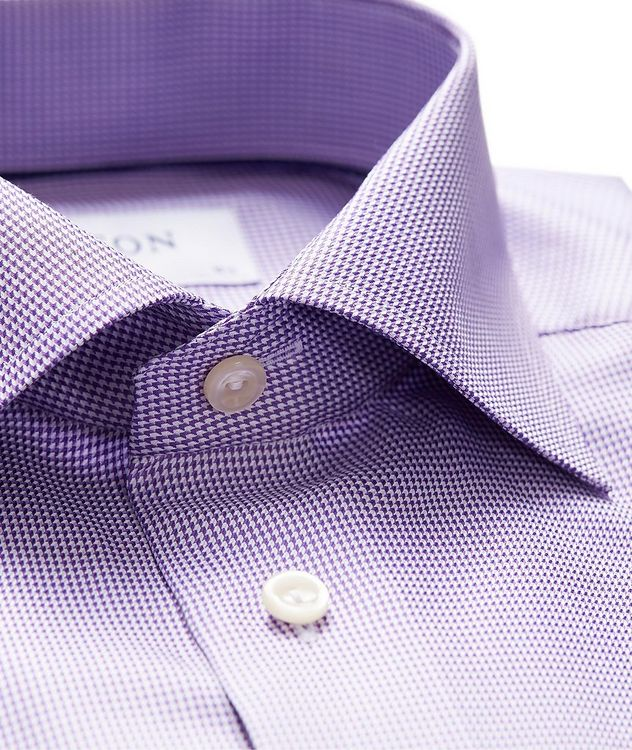 Slim Fit Houndstooth Dress Shirt picture 2