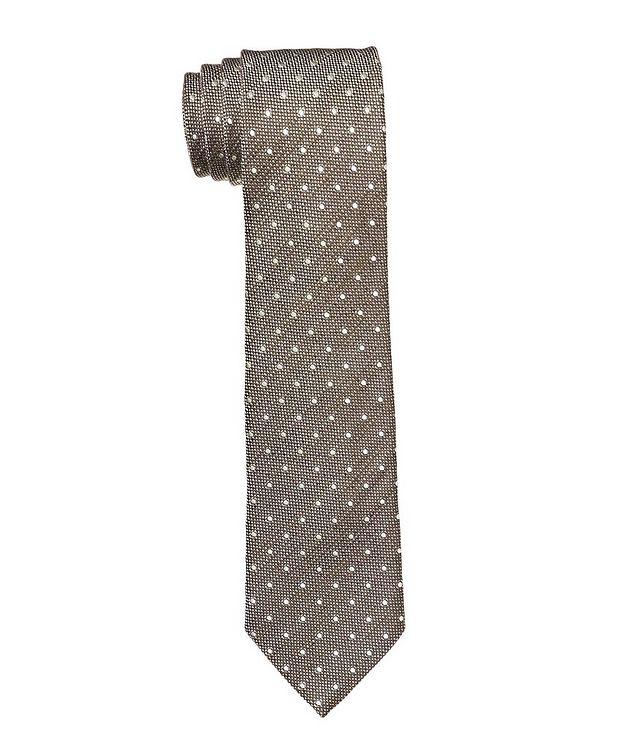 Printed Silk Blend Tie picture 1