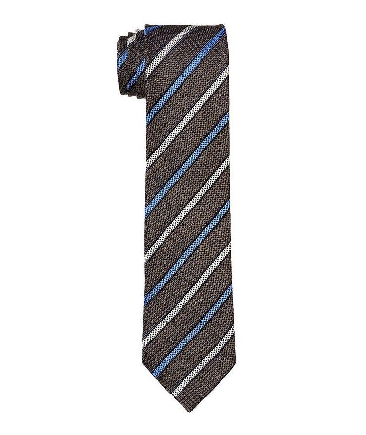 Printed Silk Blend Tie image 0